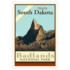 Travel South Dakota Canvas Art